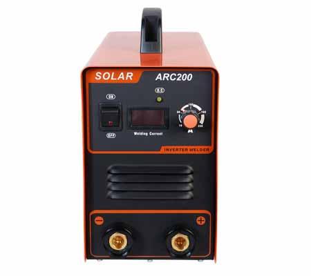 اینورتر جوشکاری سولار 200 آمپر Solar ARC200 - R04 - یک توبره