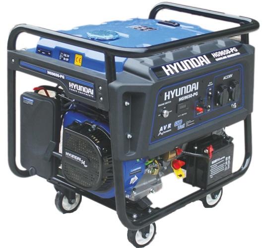 موتور برق هیوندای 6500 وات HYUNDAI HG9650-PG